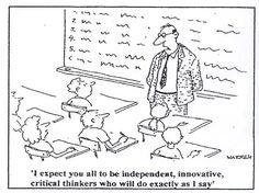class cartoon