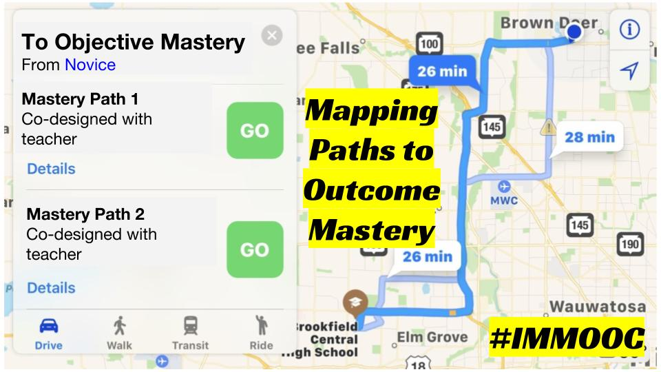 Mapping Paths to Outcome Mastery
